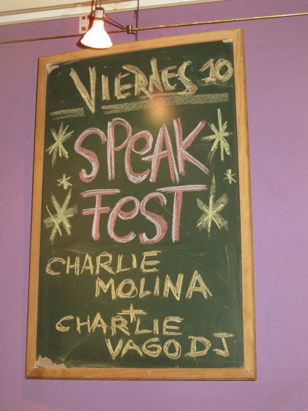 Charlie The Vagos SpeakFest